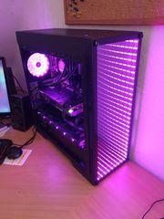 Gamer PC mit LED RGB