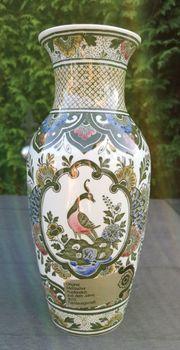 Original - Mettlacher Kupferstich Vase