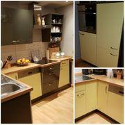 Tolle Einbauküche mit Elektrogeräten