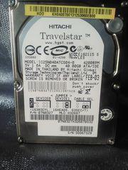 Festpaltte Notebook extern Festplatte 40GB