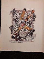 Original Aboriginal Art Bild aus