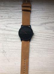 Armbanduhr Sportlich Edel Schwarz-Braun