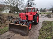 Belarus MT3-5MC Baggerlader Traktor mit