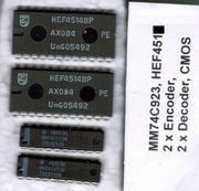 MM74C923N HEF4514 IC je 2