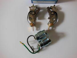Kawasaki Z650B1 Zündkontakte und Kondensator