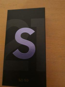 Samsung Galaxy S21 5G 128GB Phantom Violett Neu