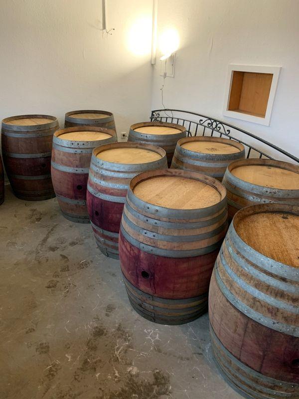 Weinfass 225l Holzfass Stehtisch Barriquefass