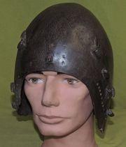 Antiker Eisenhelm - Ritter Rüstung Helm