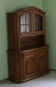 Möbel zu verkaufen Vitrine Schlafzimmerschrank