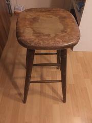 Stuhl Barhocker zu verschenken