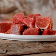 BARF - Pures Pferdemuskelfleisch in Würfel