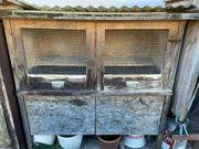 Verschenke Hasenstall - Kaninchenstall Kleintierstall Stall