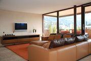 Couch Echtleder Leder Wohnzimmer Sitzgarnitur