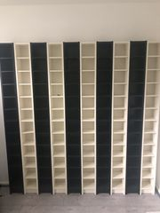 - - 10 Gebrauchte IKEA CD Regal GNEDBY -