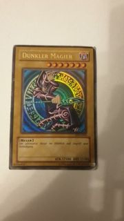 YuGiOh Dunkler Magier Karte SDY-G005