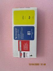 HP - Tinte Nr 81 Gelb