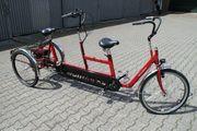 Spezial Dreirad Tandem mit Elektor-Motor