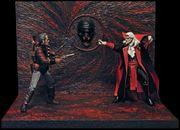 MYSTERY-Diorama für Action-Figuren zu verschenken