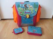 Scout Büchertasche mit Zubehör für