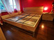 Hülsta Doppelbett Eiche - 180x200 cm