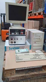 Graviermaschine Scipta mit Steuereinheit von