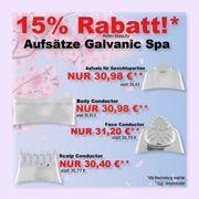 Galcanic Spa versch Aufsätze - NuSkin -