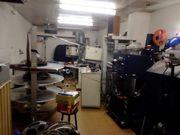 Lagerfläche für Kinotechnik Museales und