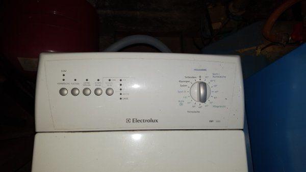 Toploader Waschmaschine Electrolux