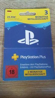 Playstation Plus Mietgliedschaft