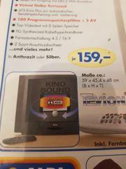 Tevion Stereo Farbfernseher mit Fernbedienung