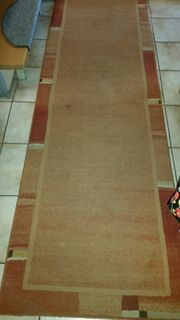 2 Teppiche terracotta