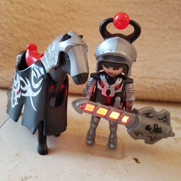 2 Sets - Playmobil Drachenreiter mit