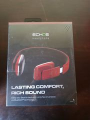 NEU-ECHOS Stereo Bluetooth Kopfhörer-ROT oder