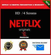 Netflix Premium 4 Bildschirme Ultra