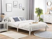 Holzbett weiß Lattenrost 180 x