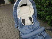 Teutonia Kinderwagen mit unbenutztem Babyaufsatz