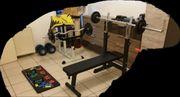 Kleines Fitnessstudio