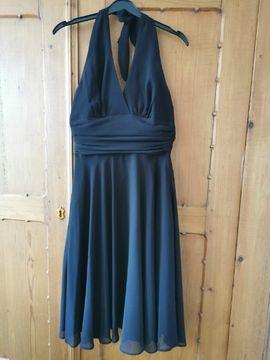 Cocktail Kleid, schwarz, Größe 34