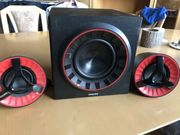 Philips Multimedia Lautsprecher 2 1