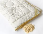 Hochwertige Bettdecke mit Alpakawolle und
