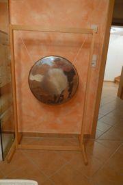 Gong mit Holzständer