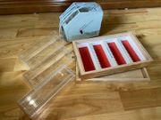 Diabetrachter Projektor mit Zubehör