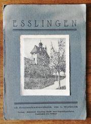 10 Original Radierungen von Esslingen