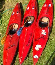 3 Kayak inclusive Paddel