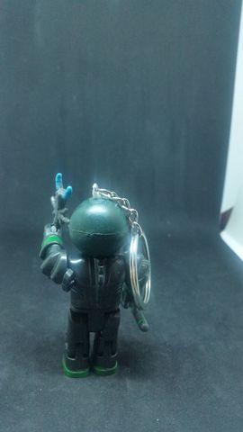 Taschen, Koffer, Accessoires - Schlüsselanhänger Roboter Grün
