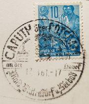 Briefmarke 10 Pfennig DDR 5-Jahresplan