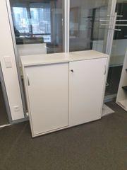 Sideboard Kinnarps Büroschrank Schiebetürenschrank Aktenschrank