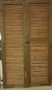 Klappläden Holz Fensterläden H 208cm