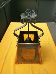 Kupfer Thekenlampen ohne Werbung