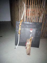 Bogen aus Holz gebraucht Köcher